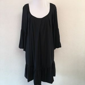 Diane von Furstenberg Black Tent Dress Size 4